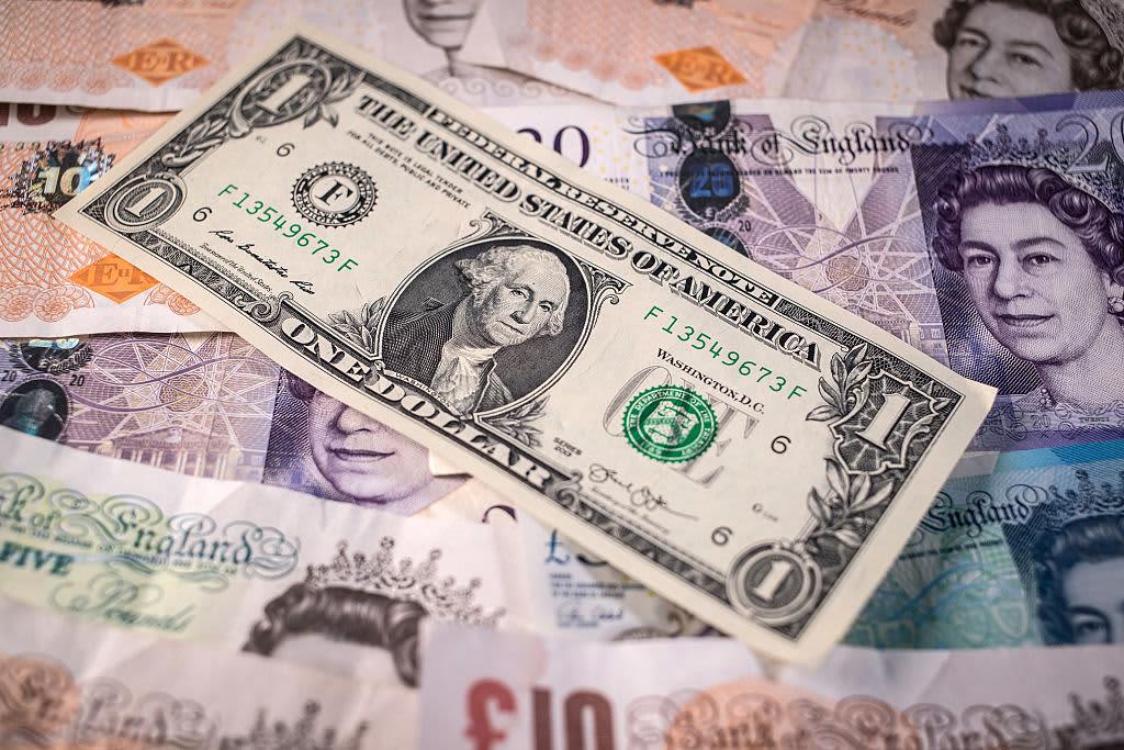 Reusable dollar pound bills