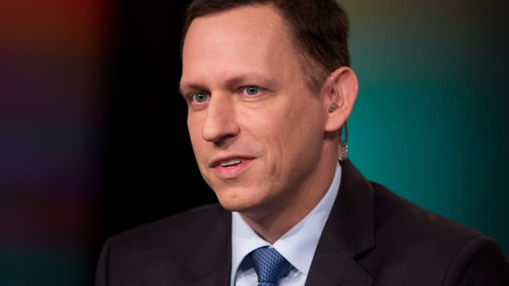Billionaire investor Peter Thiel says the FBI and CIA should investigate Google