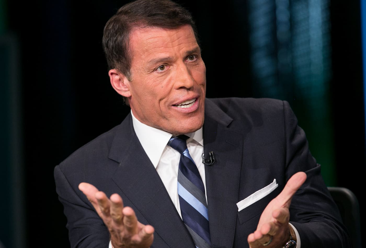 Tony Robbins shares a 2-step strategy for feeling more in control of your life