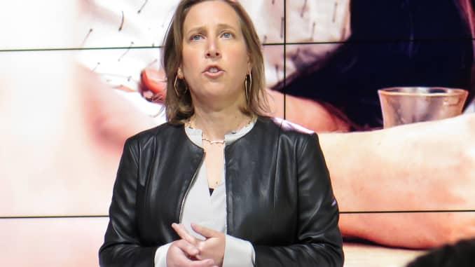 CNBC: Susan Wojcicki CEO YouTube 170228-002