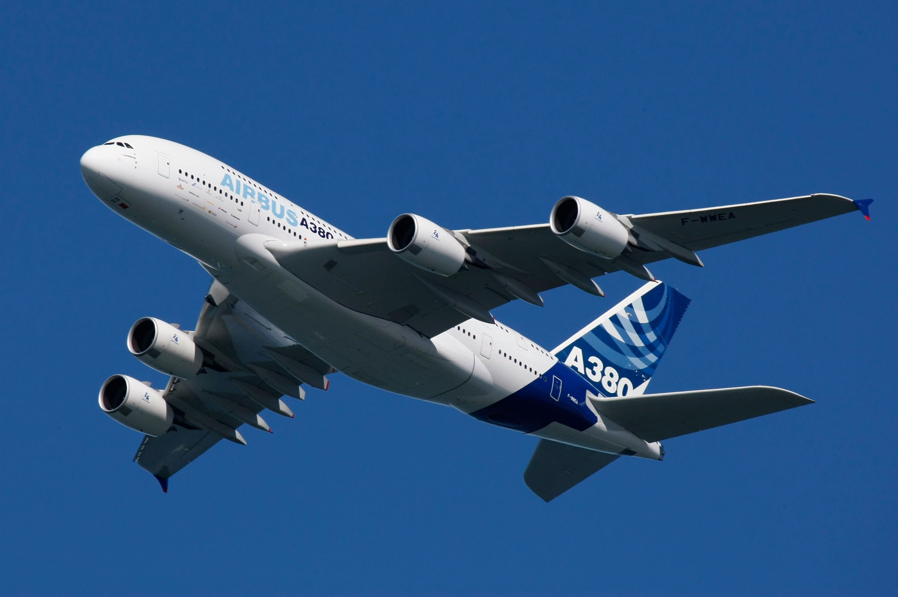 Airbus is eyeing the secondhand market as it continues to promote the A380
