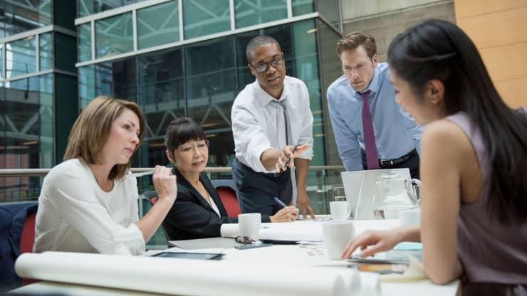 Premium: Office meeting