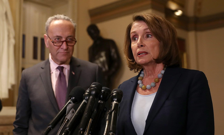 GS: Chuck Schumer Nancy Pelosi health care presser 170313-002