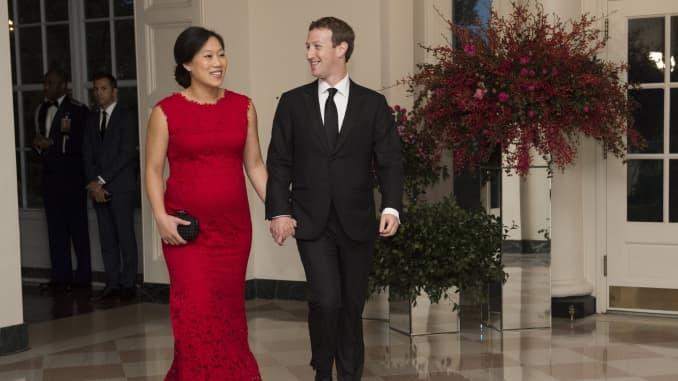 Premium: Mark Zuckerberg Priscilla Chan 150925