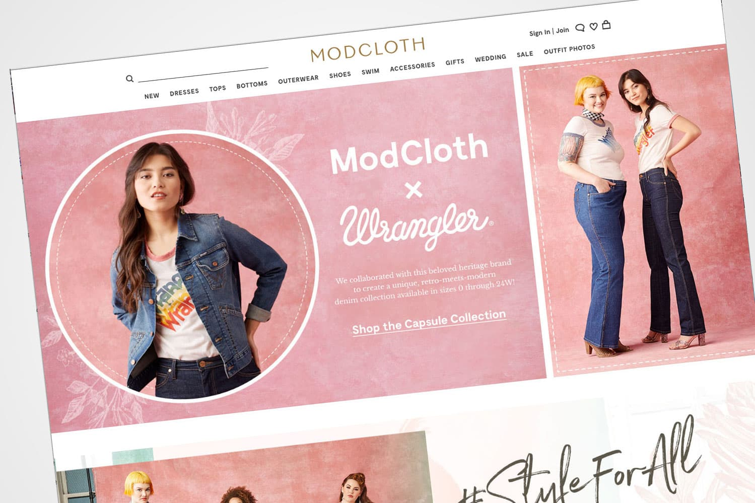 Walmart to sell online women's apparel brand ModCloth to Go Global Retail