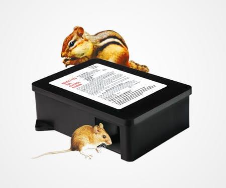 Tickbox mouse trap tic control