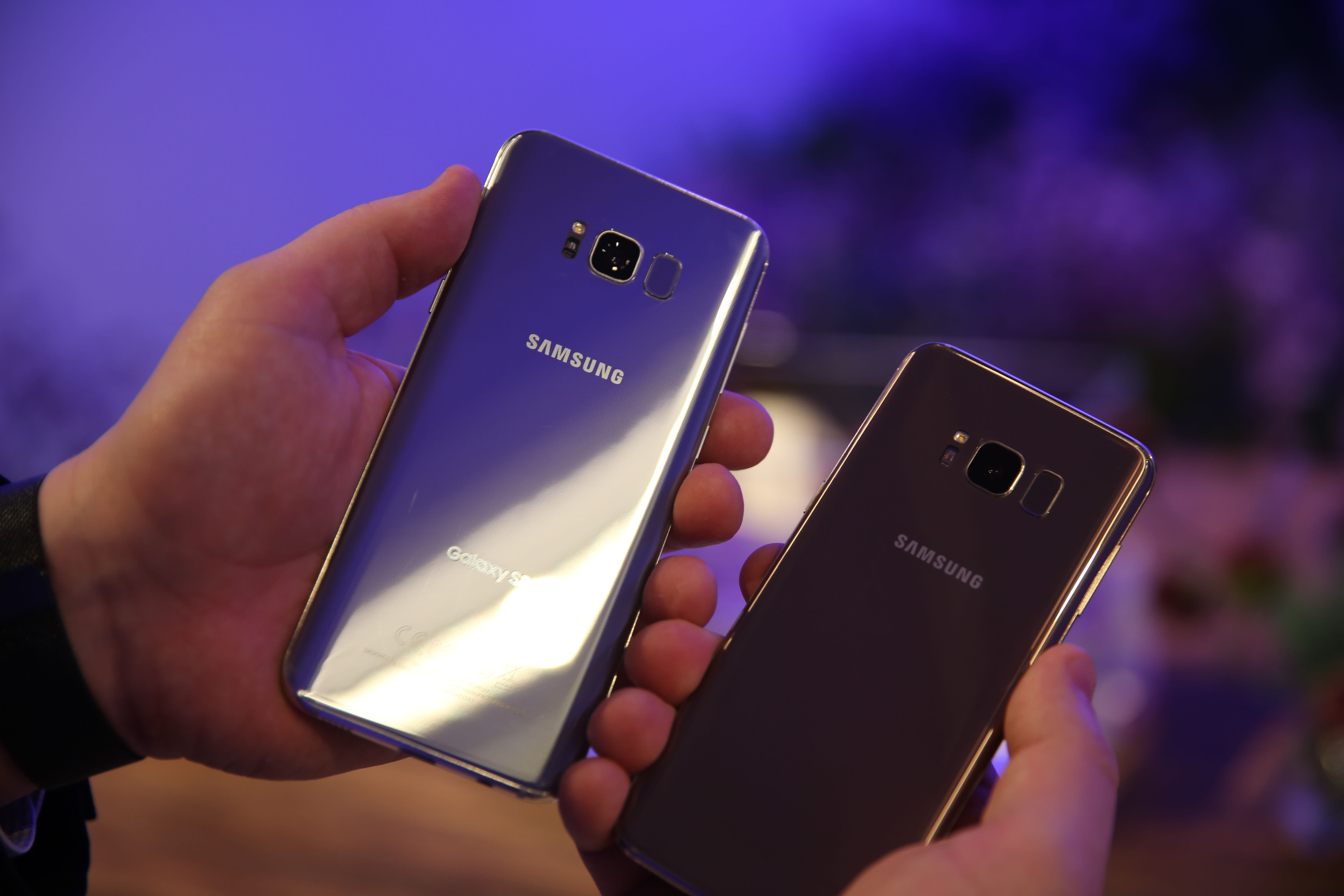 dd4216af21 Samsung Galaxy S8 launches with its own Apple Siri rival called Bixby