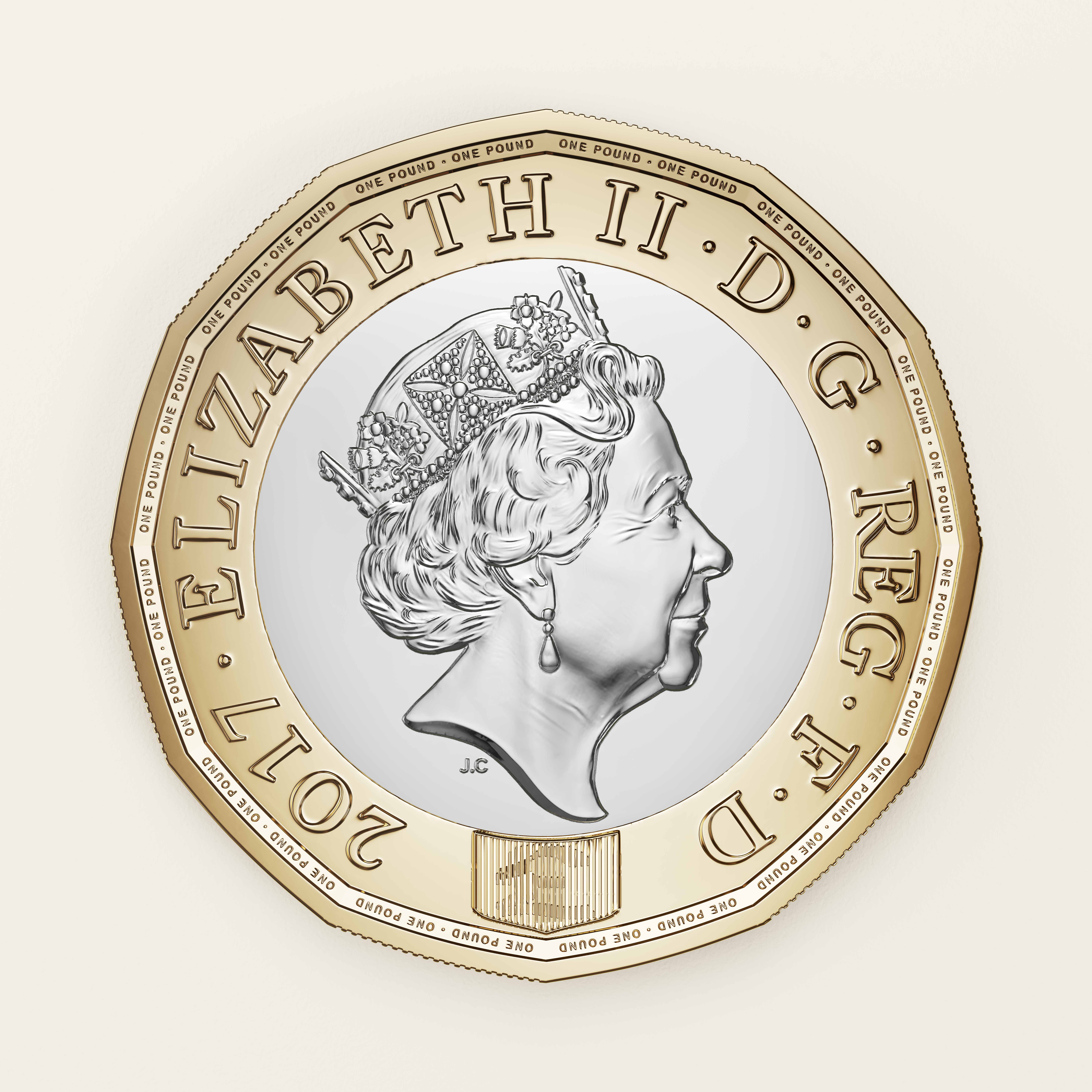 uk new 1 pound coin
