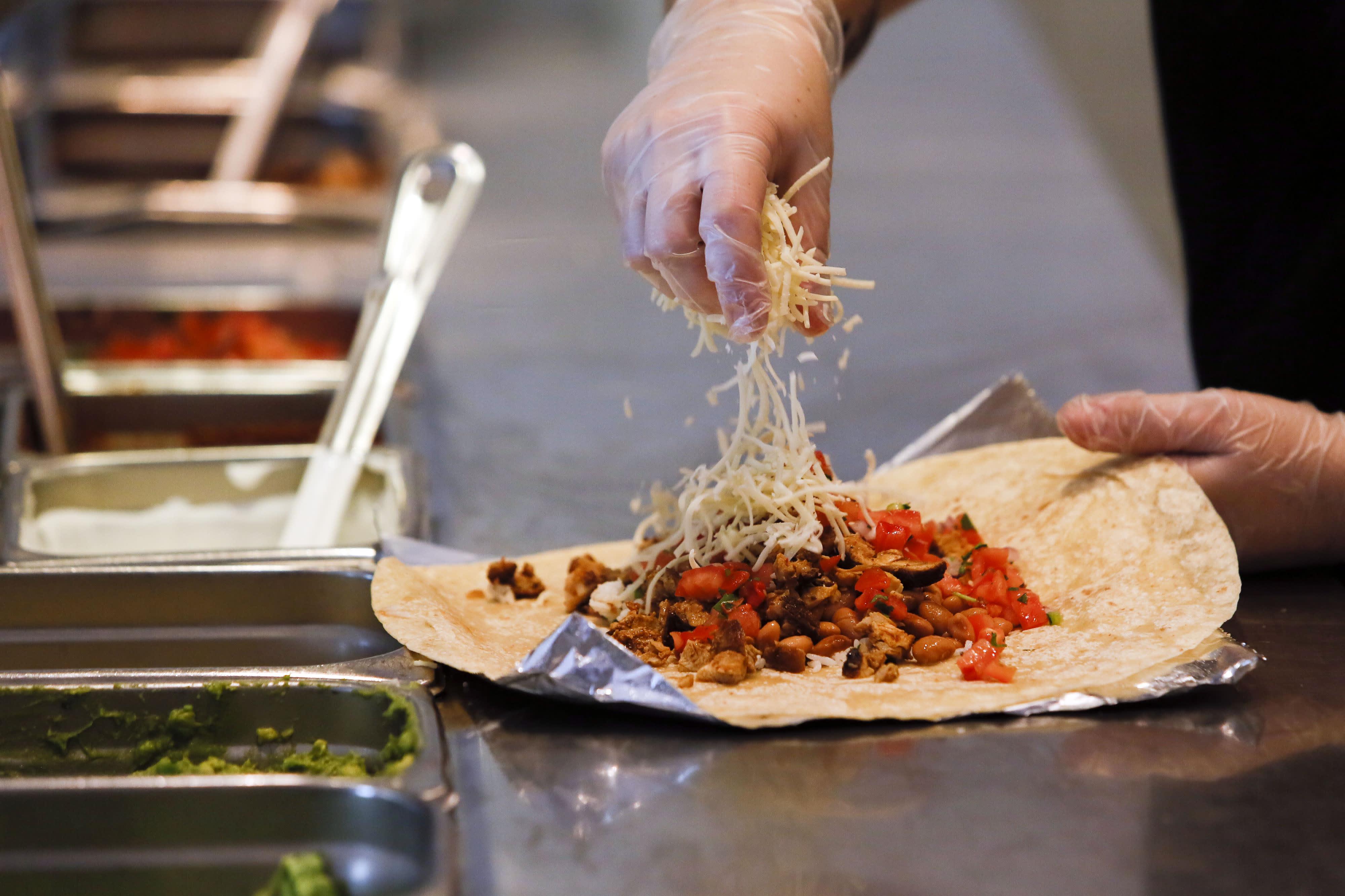 photo regarding Chipotle Printable Menu titled Chipotle exams refreshing menu: quesadilla, nachos, avocado tostada