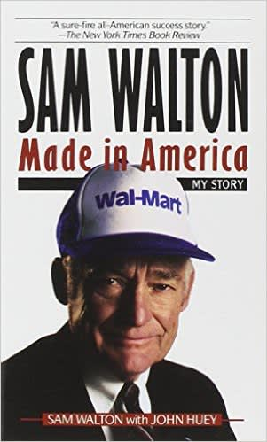 Book cover: Sam Walton