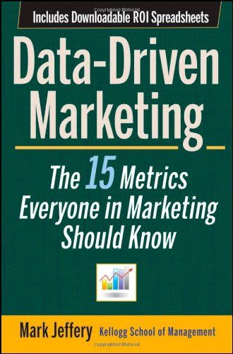 Book Cover: Data driven marketing