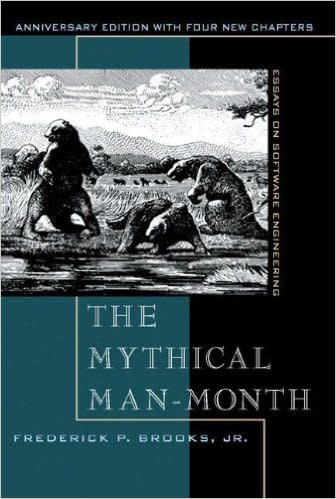 Book cover: The Mythical Man-Month