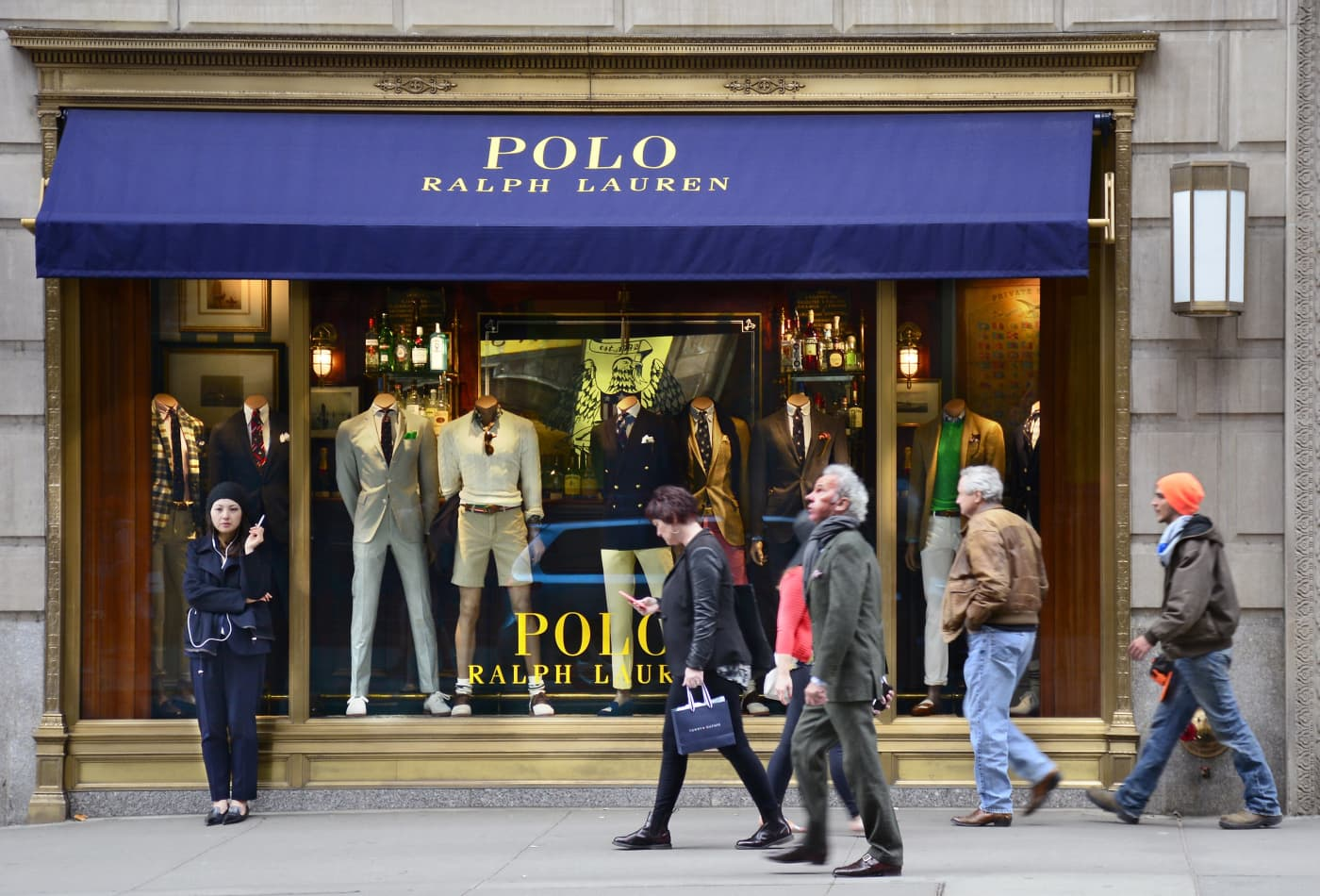 102ae063 Fashion giant Ralph Lauren is launching its first streetwear collaboration