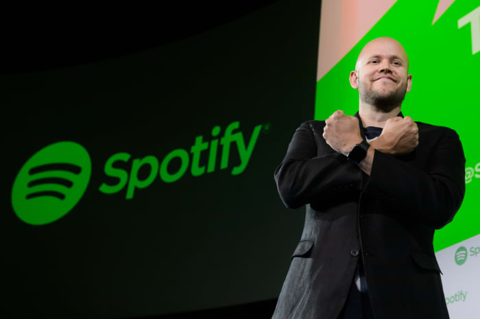 GP: Daniel Ek, chief executive officer and co-founder of Spotify AB