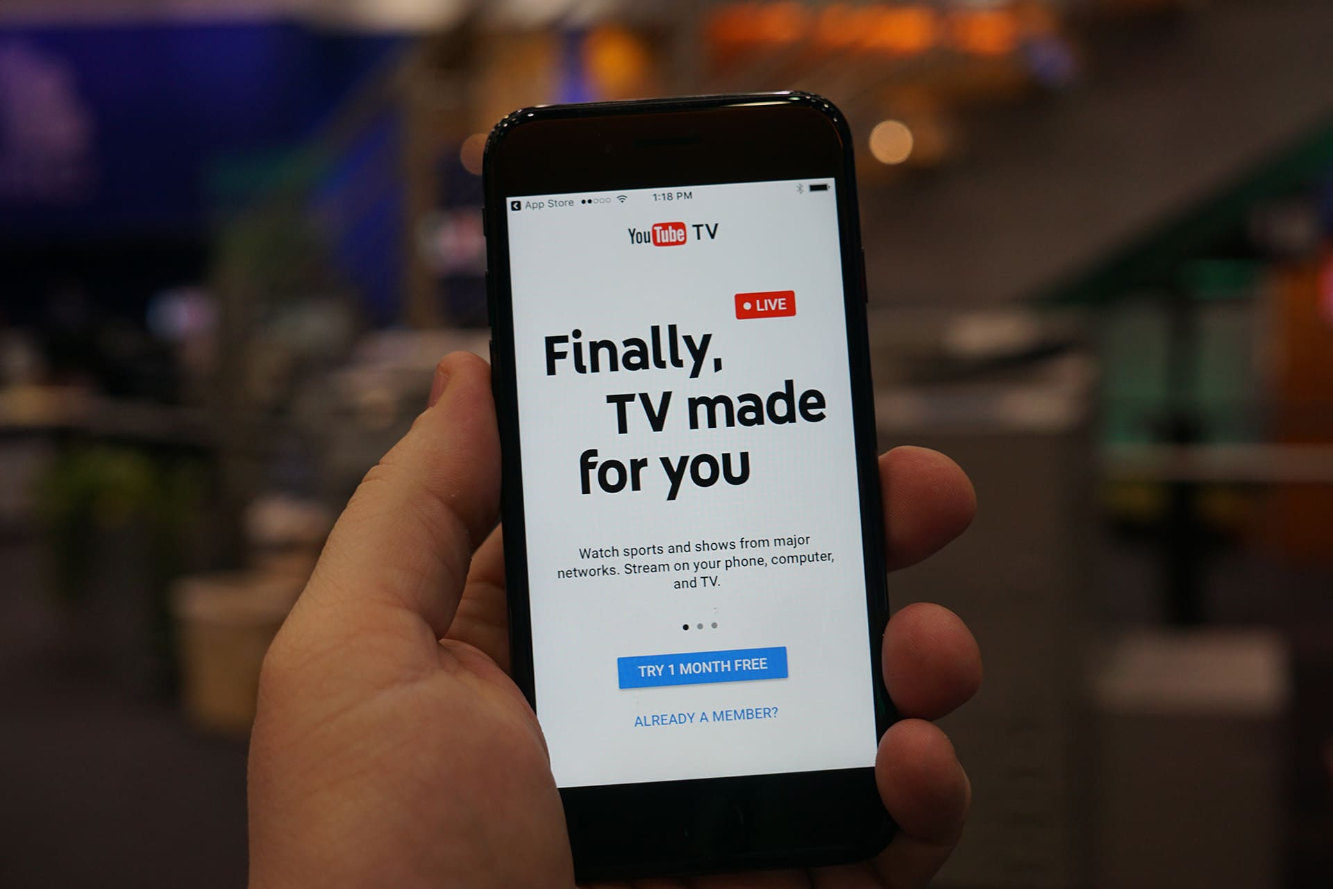 YouTube TV livestreaming service goes nationwide