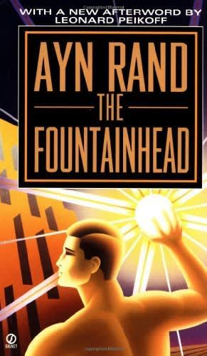 Book cover: The Fountainhead Ayn Rand