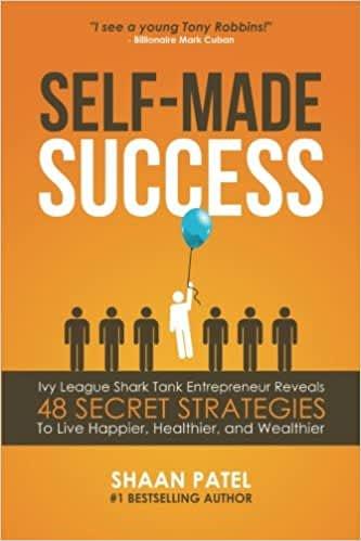 book cover: self-made success