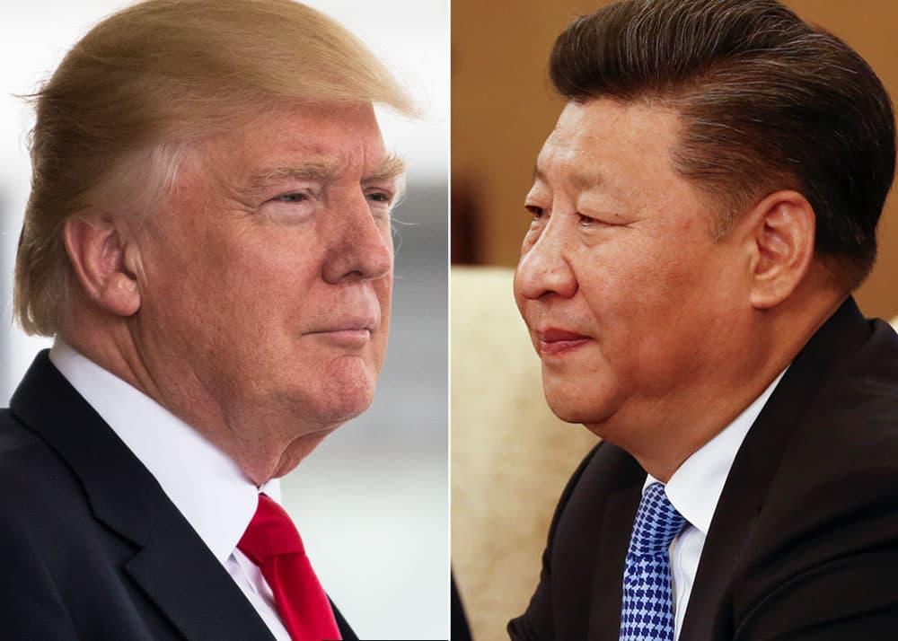 Subs: Donald Trump and Xi Jinping split