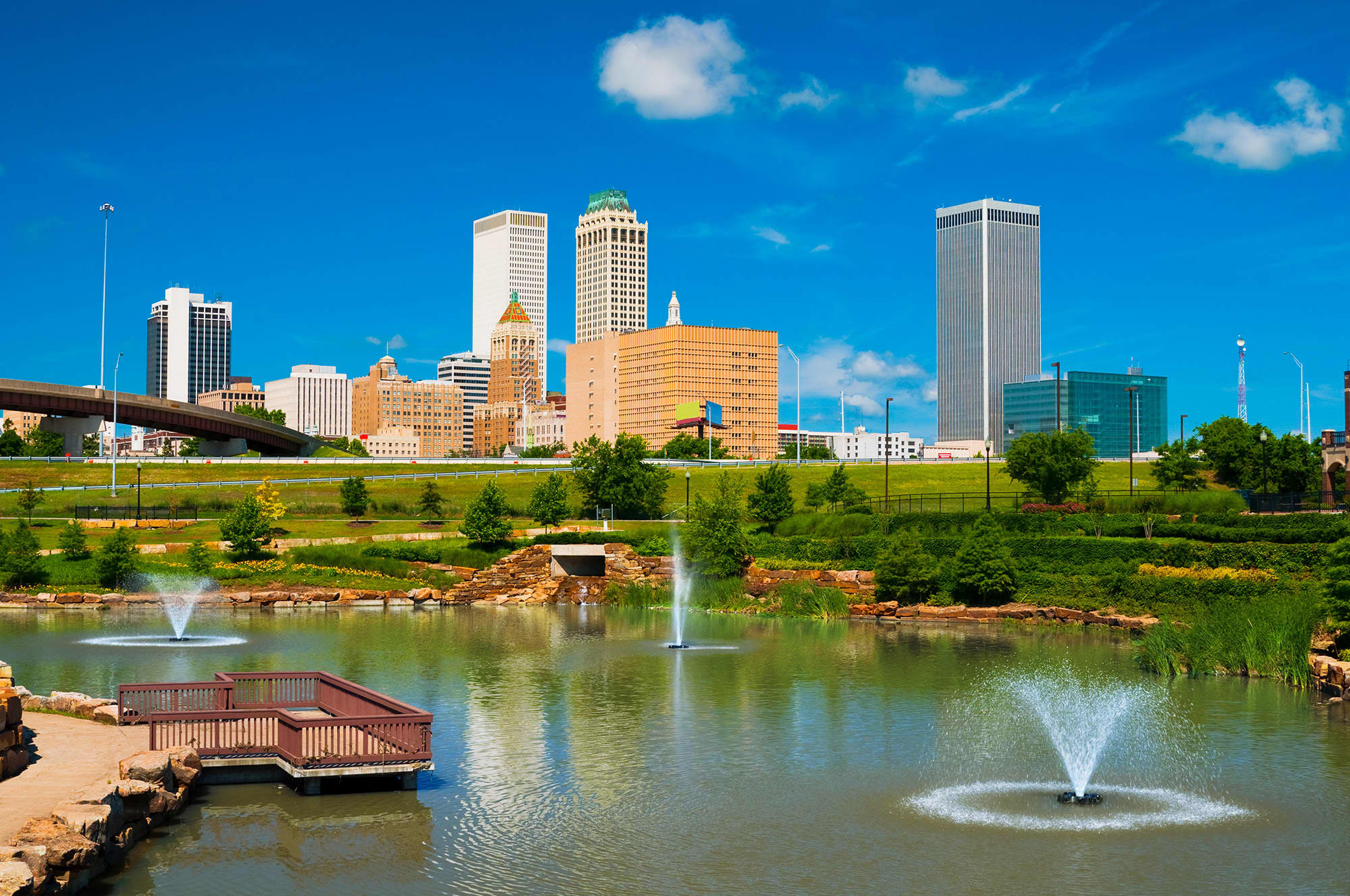 Tulsa, Oklahoma will pay you $10,000 to move there and work from home