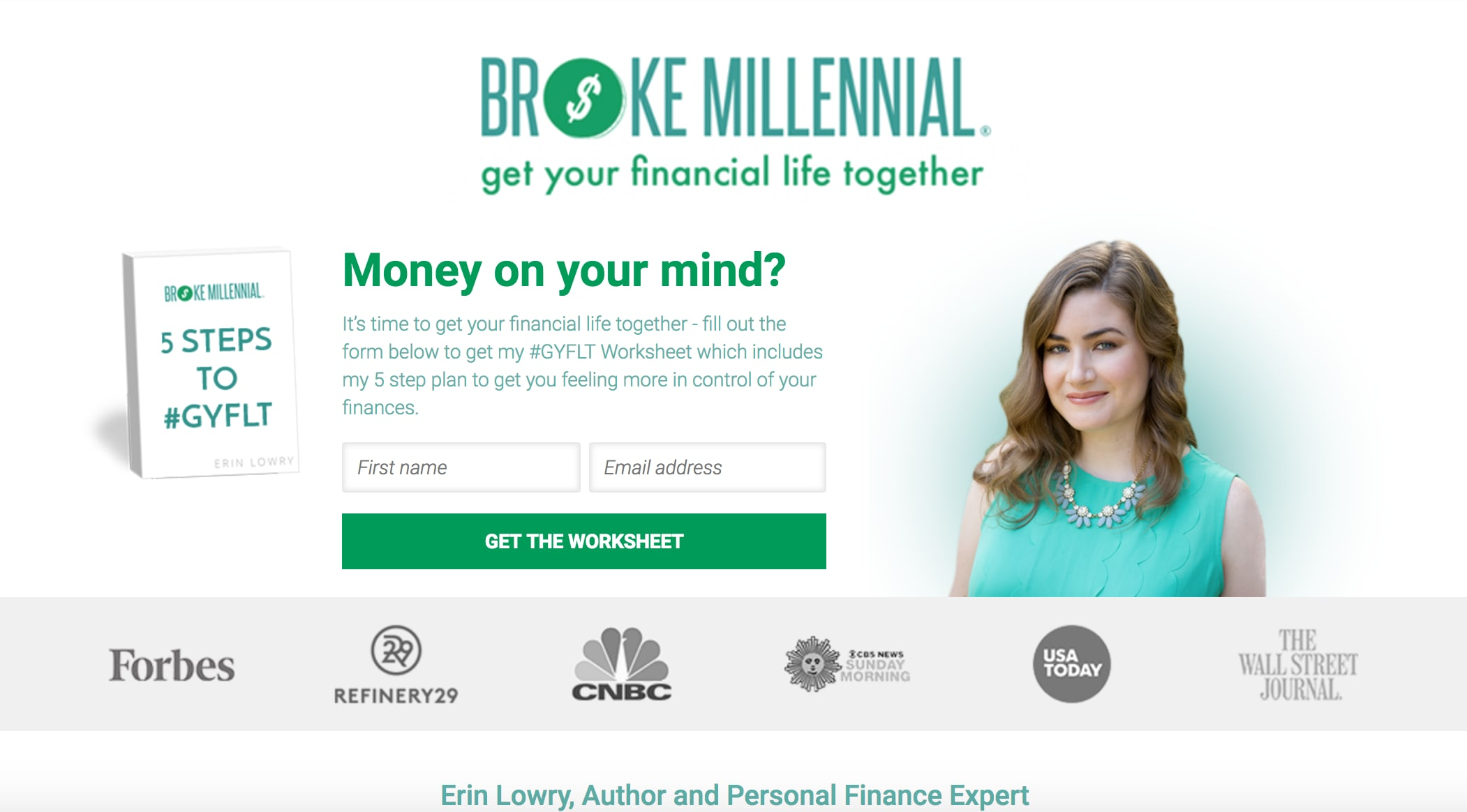 Broke Millennial, a personal finance blog by Erin Lowry