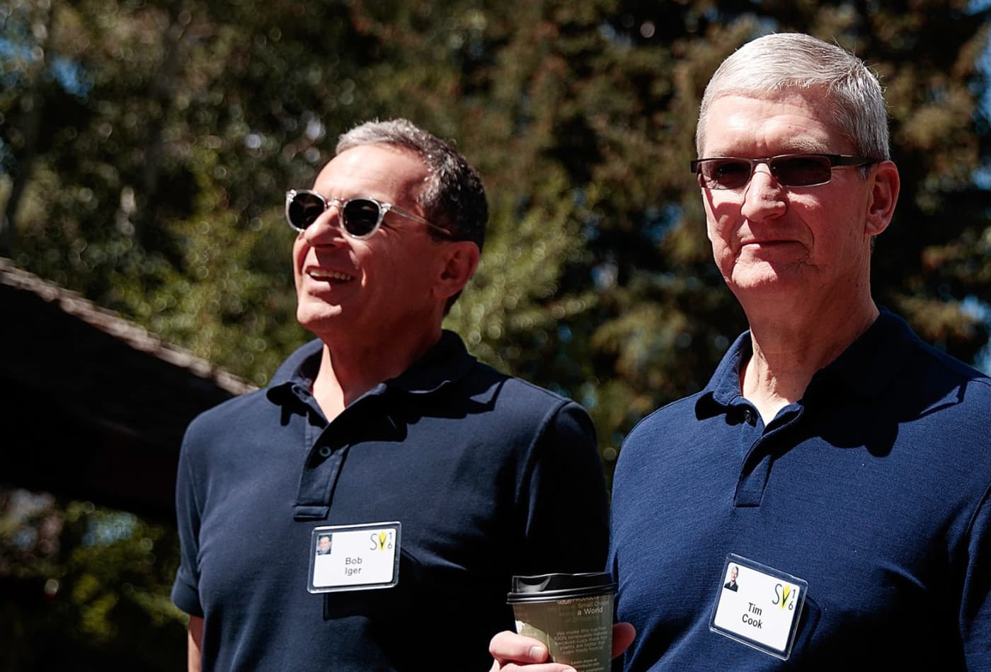 Disney CEO Bob Iger resigns from Apple board as companies come into conflict on streaming
