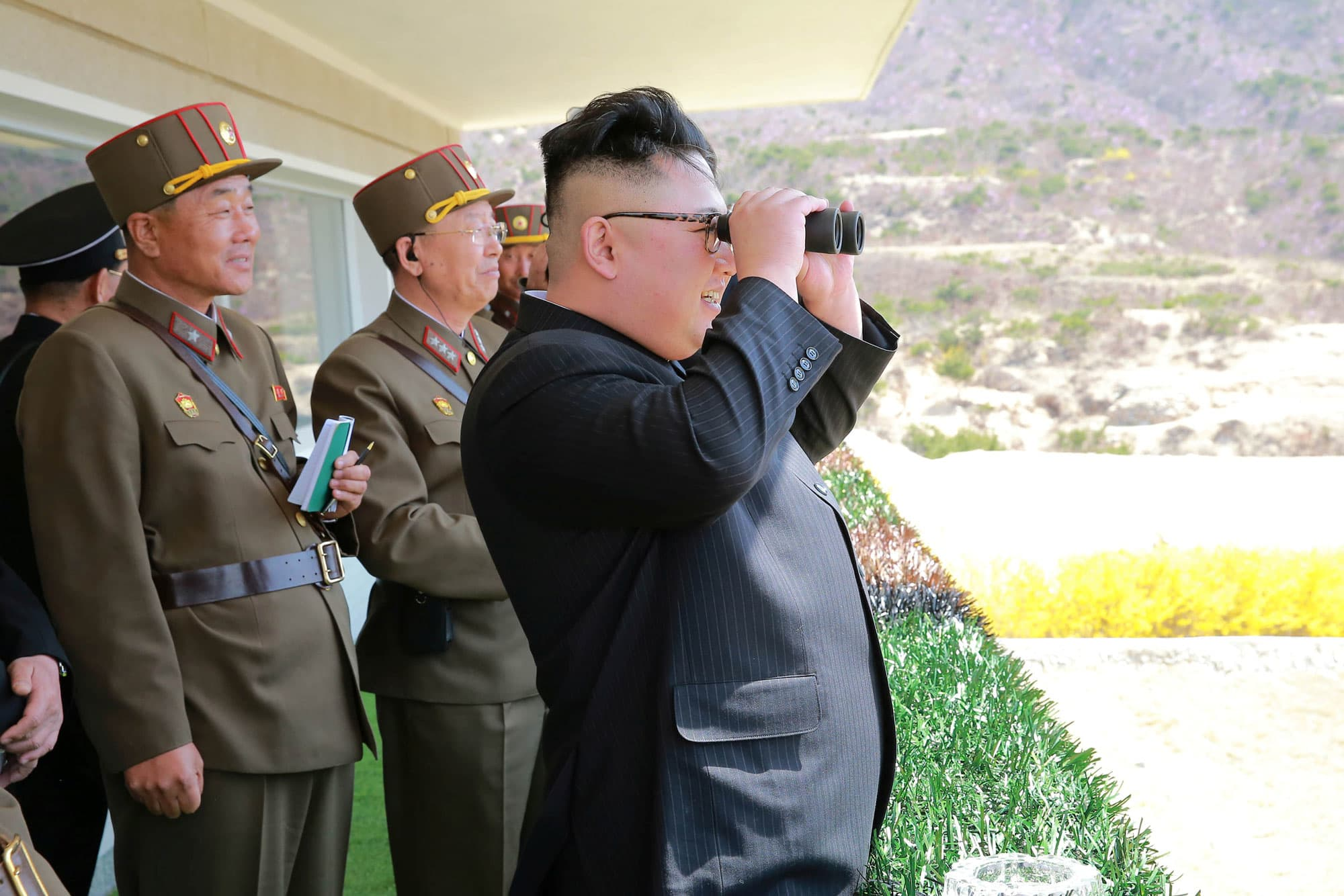 North Korea fired two short-range ballistic missiles into the sea: NBC