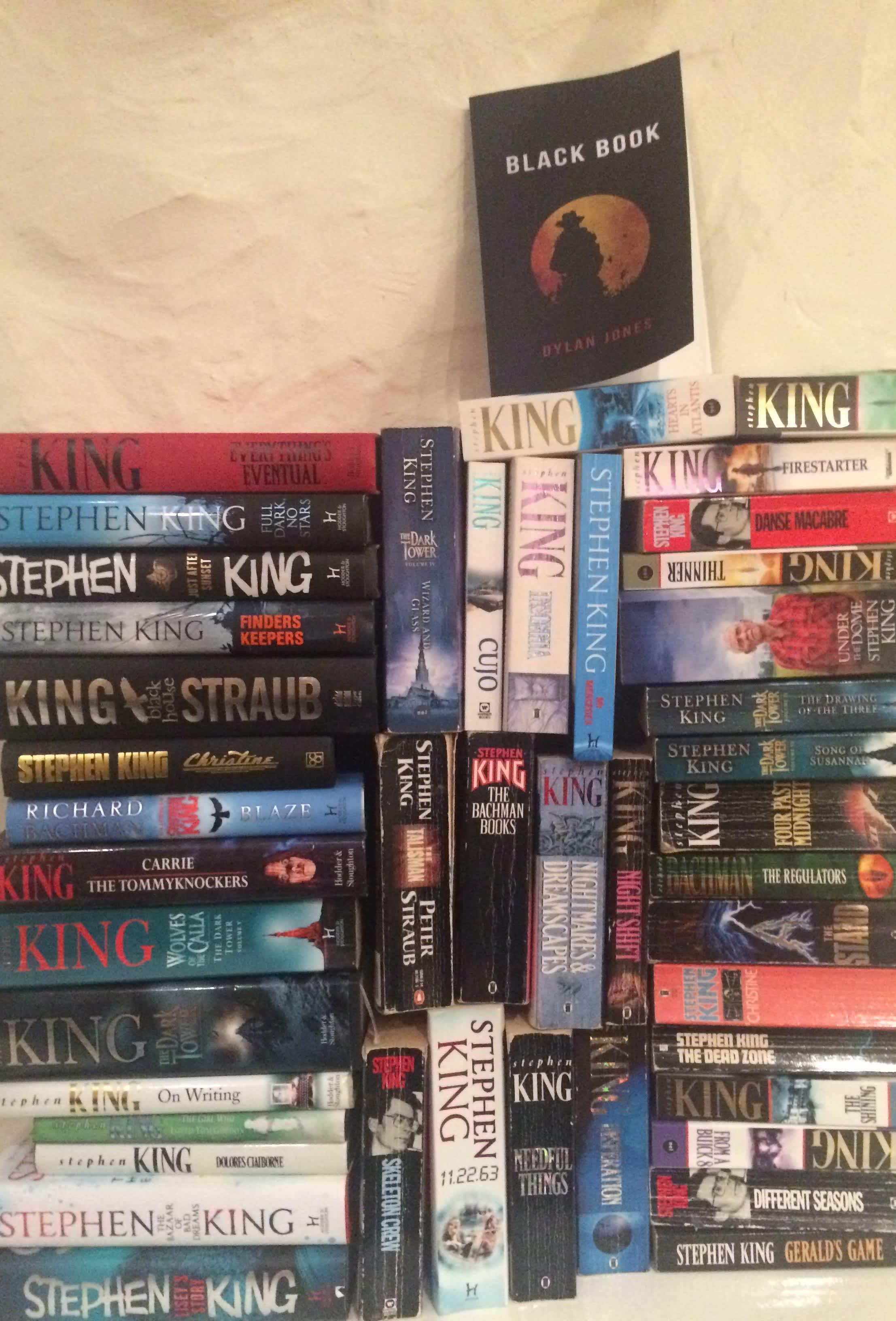 HANDOUT Dylan Jones Stephen King collection
