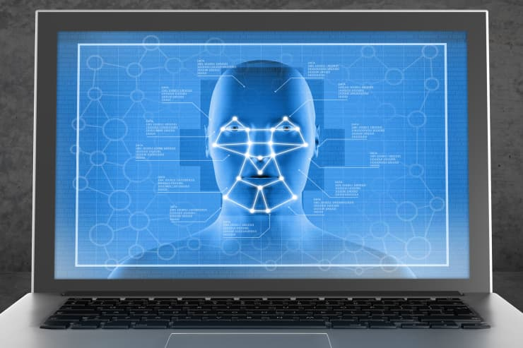 Premium: Facial recognition on laptop