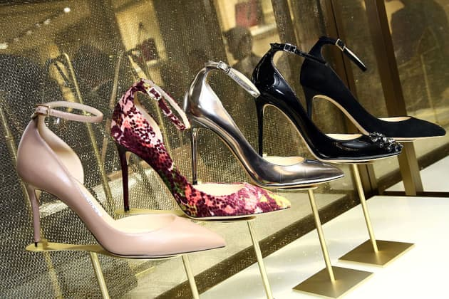 4be1231812 Luxury fashion brand Jimmy Choo invites buyers to put their best foot  forward