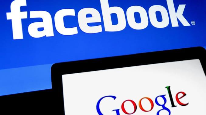 Subs: Facebook Google logos