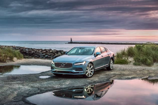 2017 Volvo S90 Review A High Tech Luxury Sedan