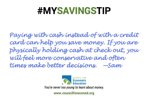 Sam Zises savings tip