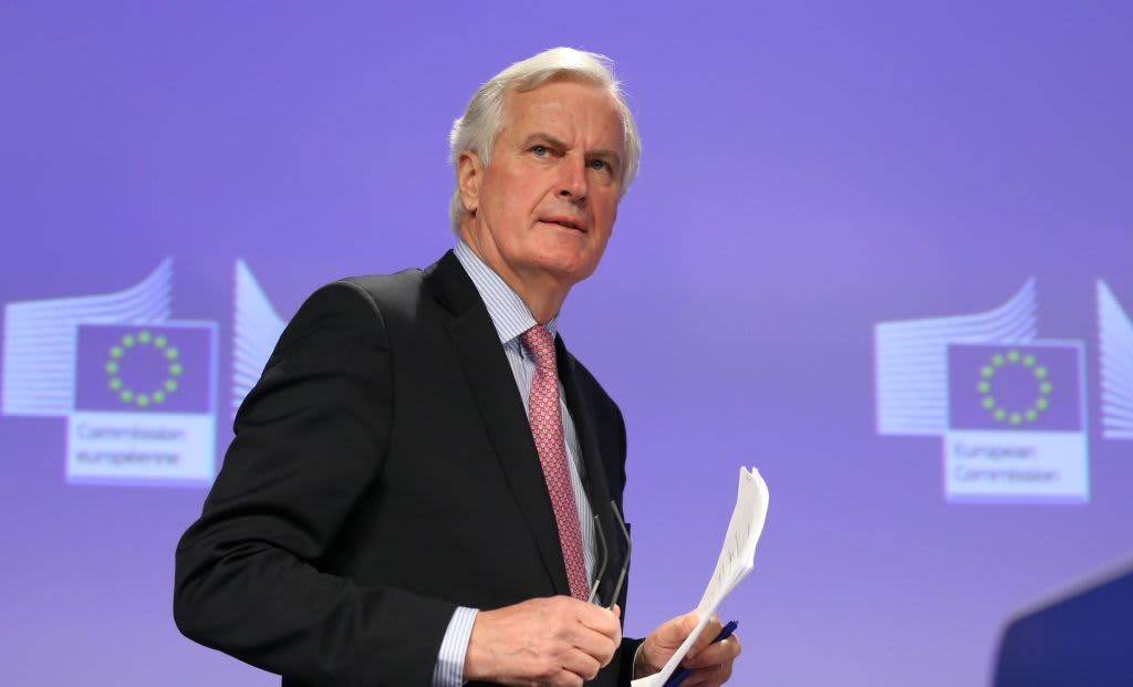 Sterling jumps after EU negotiator Barnier says Brexit deal is still possible this week