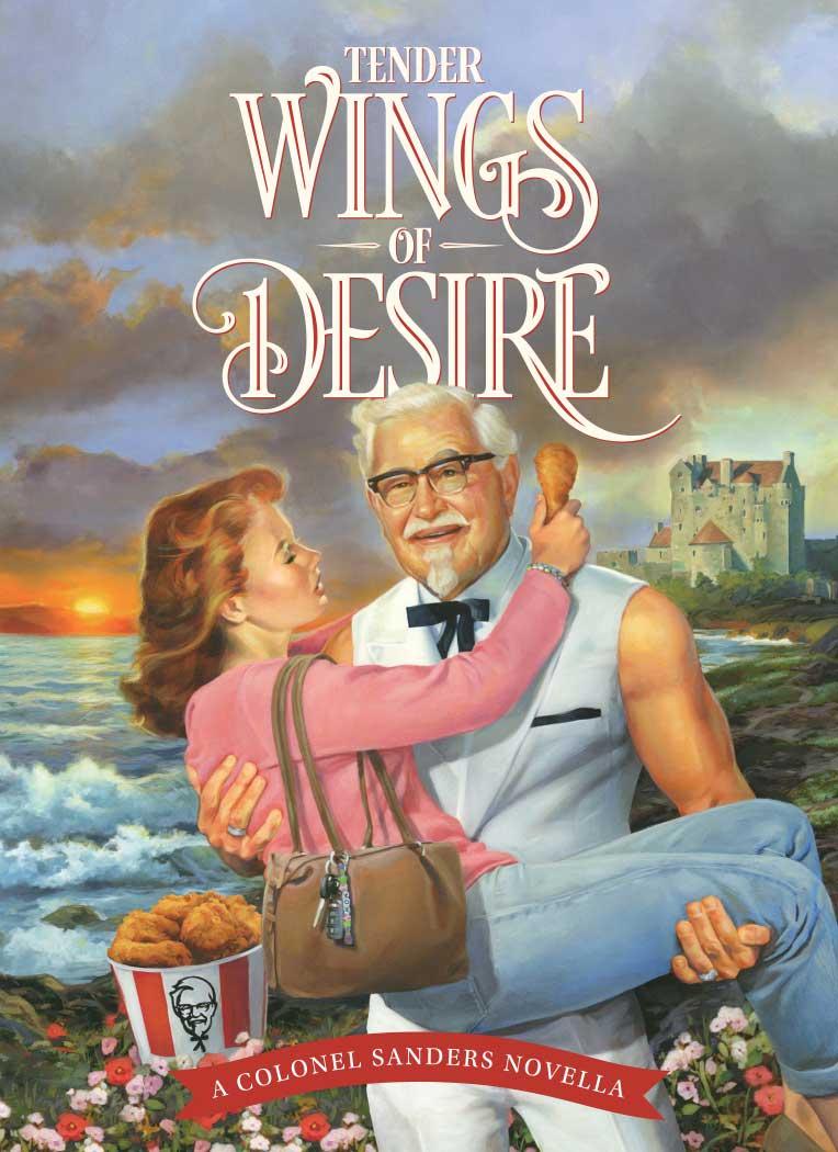 Handout: KFC Tender Wings of Desire book full image