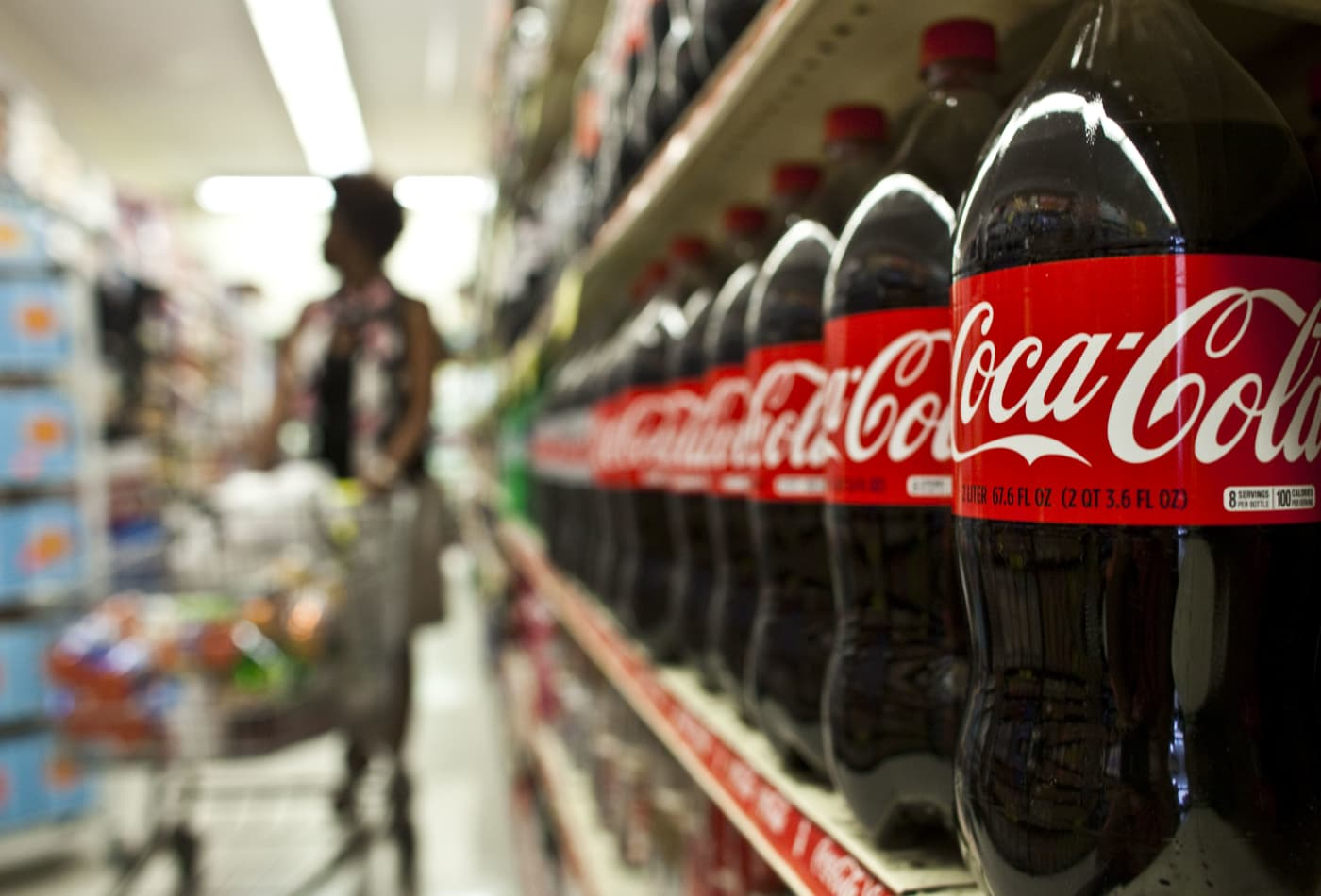 Coca-Cola earnings fall 33%, but company sees improving demand as lockdowns ease
