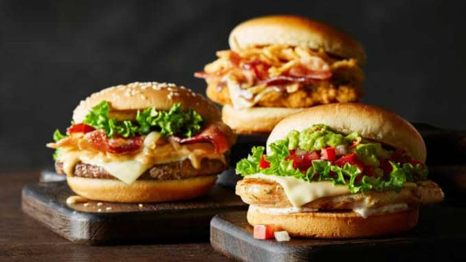 Handout: McDonald's burgers