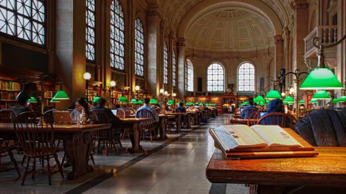 Premium: Biblioteca Pública de Boston