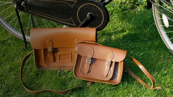 HANDOUT the first satchels of The Cambridge Satchel Company