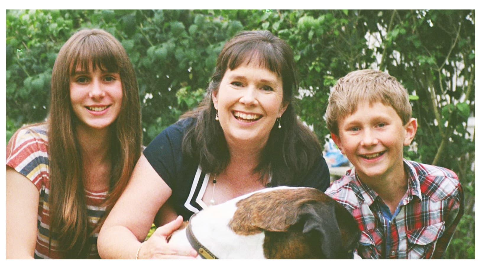 HANDOUT Julie Deane and her older kids