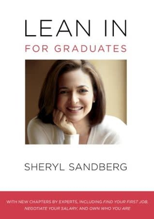 Book cover: Lean In for college graduates