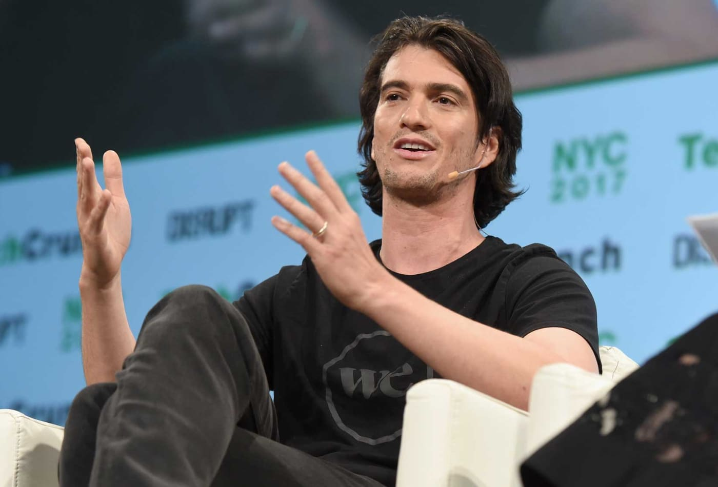 WeWork CEO returns $5.9 million the company paid him for 'We' trademark