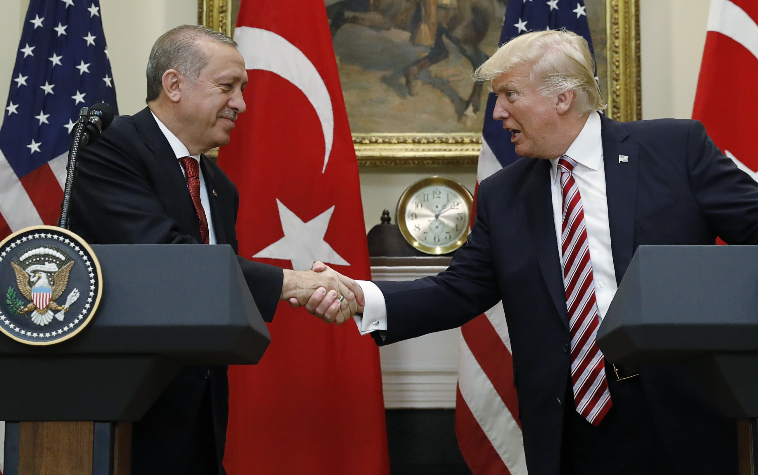 A messy Russian arms deal looms over Trump's meeting with Turkish President Erdogan