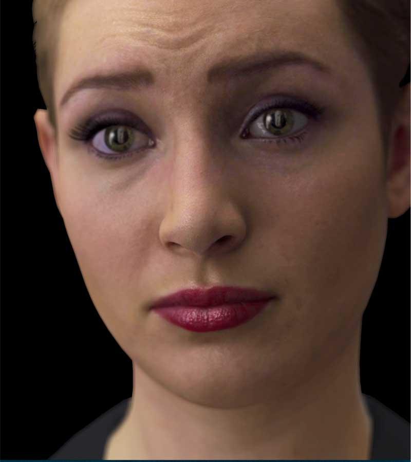 Handout: Nadia face, a virtual avatar