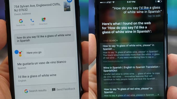 Siri vs  Google Assistant on iPhone