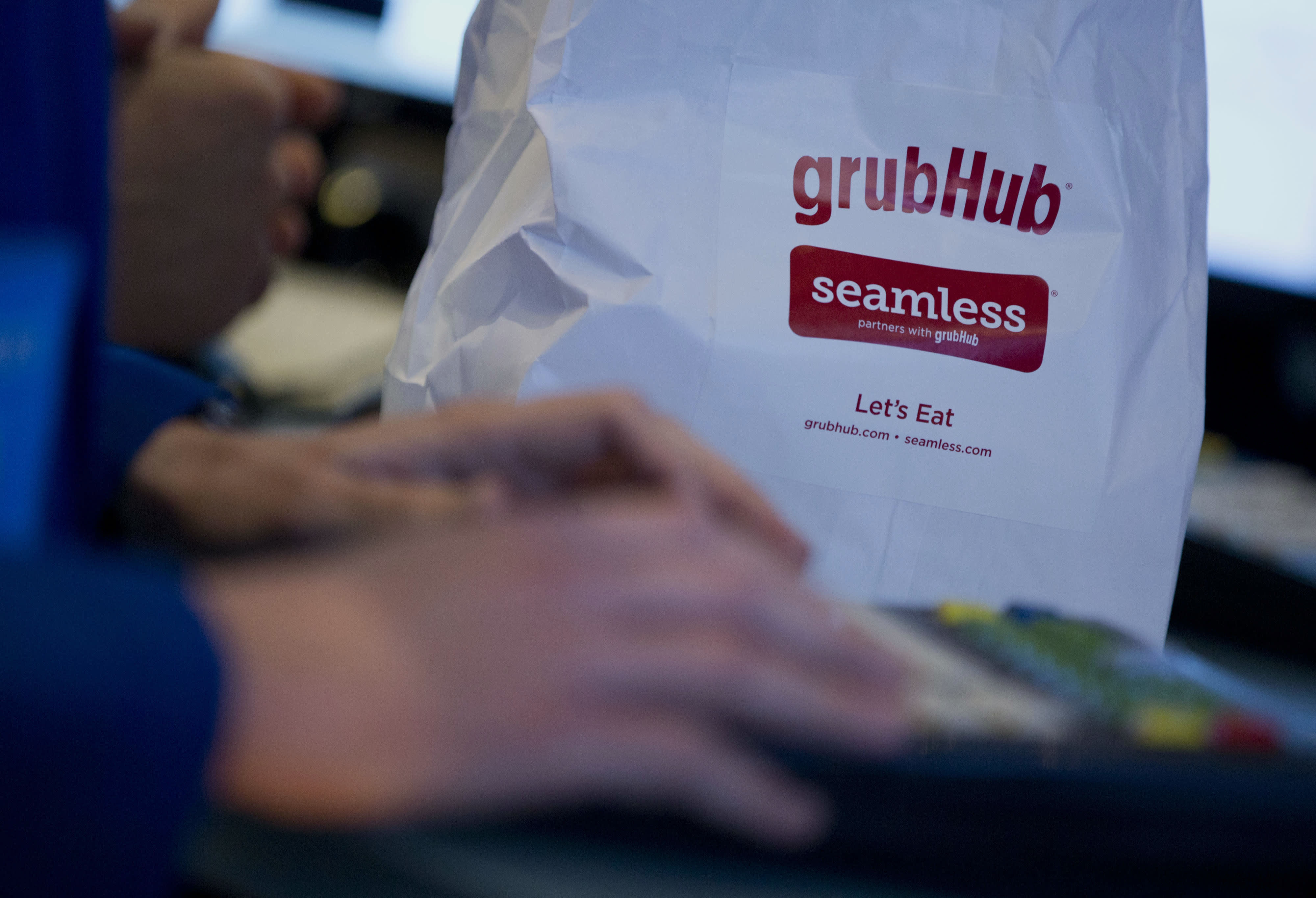 Options traders are betting that GrubHub is headed for the gutter