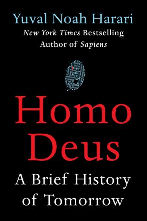 Homo Deus Yuval Noah Harari book cover
