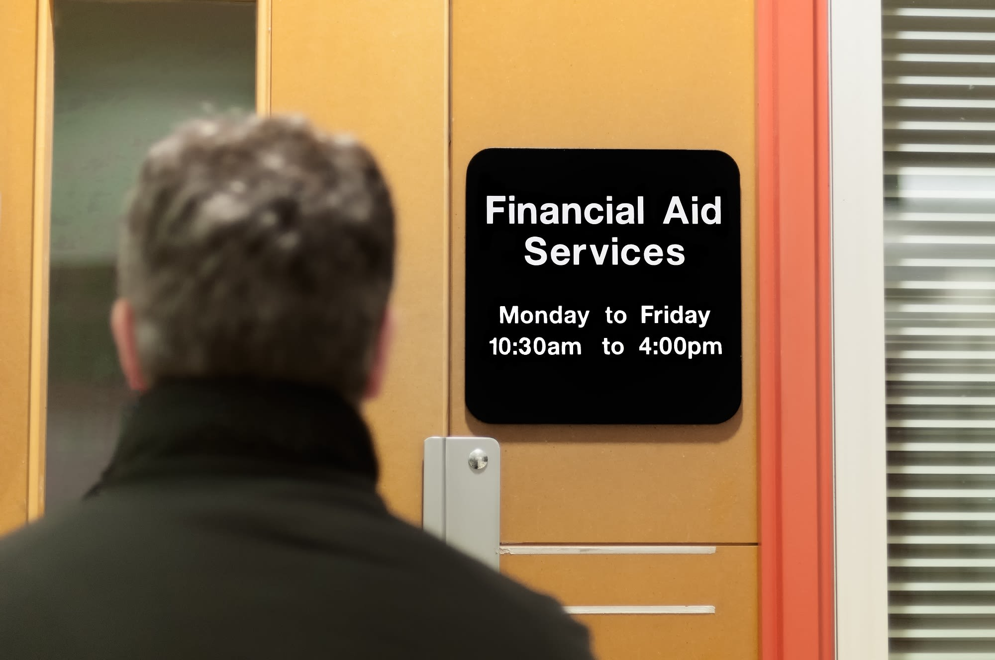 Many high school students don't understand how the college financial aid process works