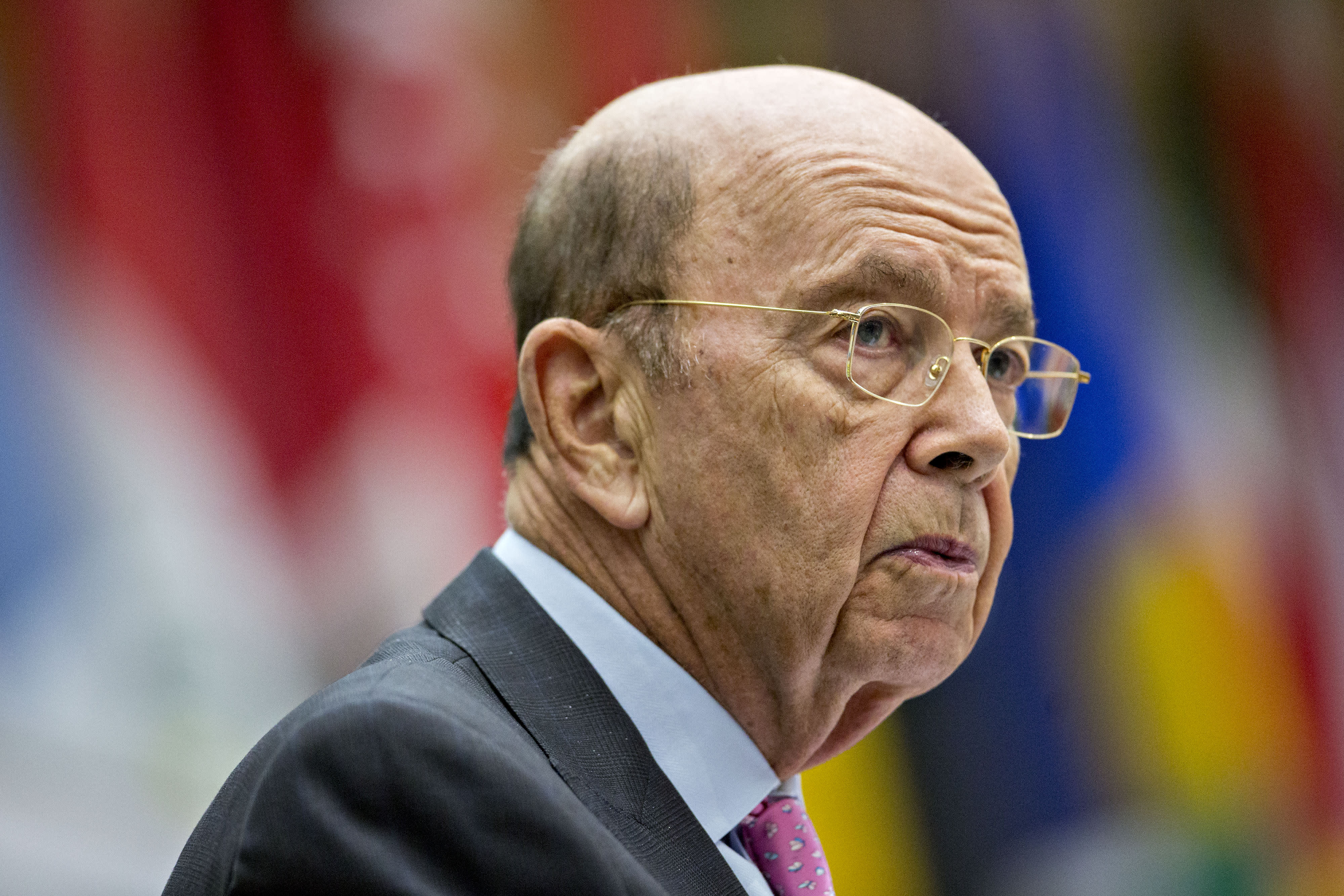 Wilbur Ross, U.S. commerce secretary, speaks during the 47th annual Washington Conference on the Americas at the U.S Department of State in Washington, D.C., U.S., on Tuesday, May 9, 2017.