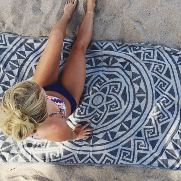 HANDOUT Sand Cloud Mandala Beach Towel
