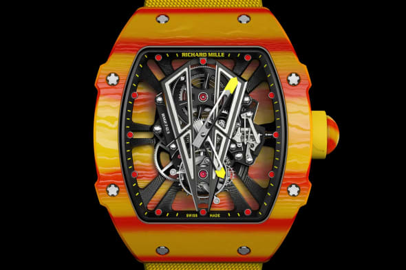 Tennis Pro Rafa Nadal S New 725 000 Richard Mille Watch